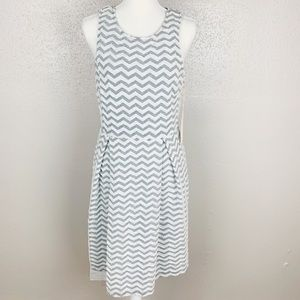 NEW StitchFix 41 Hawthorn Jace Chevron Print Dress
